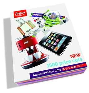 Argos catalogue shopping