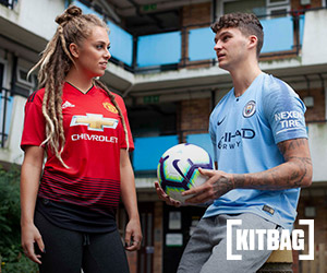 Football kits at KitBag