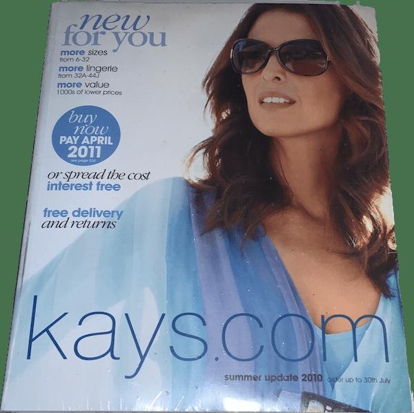Kays Catalogue website